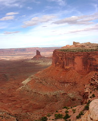 Canyonlands Butte and Mesa (Jay Costello) Tags: red utah nationalpark ut sandstone butte canyonlandsnationalpark canyonlands moab mesa