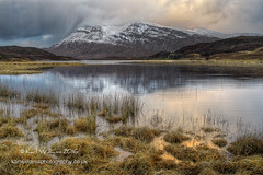Stormy Arkle (Shuggie!!) Tags: storm mountains water clouds reflections landscape scotland morninglight highlands williams shoreline hills karl grasses sutherland hdr afternoonlight zenfolio karlwilliams