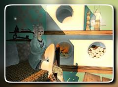 Brisk Morning (Rosemaery Lorefield [Shabby Tabby]) Tags: olive sl secondlife elysium slink shabbytabby amitomo chicchica rosemaerylorefield genesislab