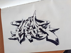 """Mega"" (cAuSetuRk) Tags: art graffiti style bursa mega blackbook abk balcans stilbaz causeturk"