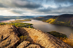 Valley Light (pidalaphoto) Tags: coldspringny hudsonhighlands bullhill sunrise mountains newyork moody hudsonriver philipstown clouds mounttaurus river mttaurus valley dark ny clearingstorm hudsonvalley