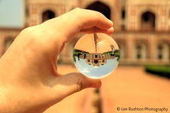 Humayun's Tomb, New Delhi (Rushy9495) Tags: india crystal newdelhi crystalball humayunstomb humayuns
