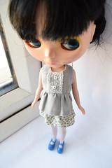 Blythe grey outfit set