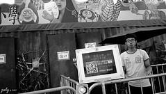 DSC_1073psaJZ (七 月) Tags: hk hongkong snapshot 香港 kowloon 九龍 街景 人像 人文 外拍 街拍 攝影 抓拍 黑白照片 kln 外影 紀實 拍攝 荔園 外攝