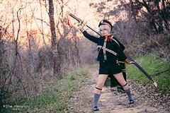 Hotarumaru () (btsephoto) Tags: park portrait game forest lens costume video woods texas play cosplay sage sugar r sword land mm lm fujinon f28 wr  xf ois cullinan ranbu touken 50140 hotarumaru   saniwa