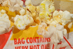 Bag of Popcorn (Flickr Clicks by Al) Tags: hot macro bag popcorn mondays buttery microwaveable