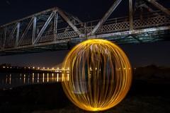 Orb (Keith_Ryan) Tags: bridge ireland light night painting long exposure orb nighttime waterford munster keithryan28