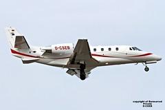 D-CSEB LMML 03-04-2016 (Burmarrad) Tags: cn private aircraft airline plus registration cessna citation xls 560xl lmml dcseb 5606093 03042016