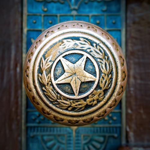 Lone Star Door Knob