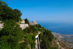 Erice (Antonella Foti) Tags: sea mare sicily sicilia erice