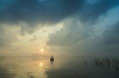Surya Namaskar (Well-Bred Kannan (WBK Photography)) Tags: wbkphotography wbk wellbred kannanmuthuraman kannan nikon nikond750 d750 india indian weekendwalk incredibleindia travelphotography travel traveler msb madrasshutterbugs kolavai lake chengalpet chennai sunrise water