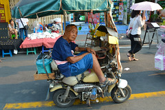 face (moridee) Tags: food market motorbike theface deanmoriarty