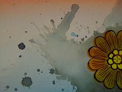 DSC09476 (scott_waterman) Tags: detail ink watercolor painting paper lotus gouache lotusflower scottwaterman