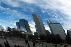 Bean Reflection 3 (Emily K P) Tags: city chicago reflection buildings bean millenniumpark cloudgate