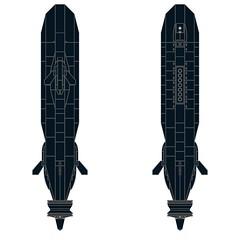 SSXDragonfishMOD1-003 (Dragonov Brick Works) Tags: lego submarine snot ldraw microscale studless