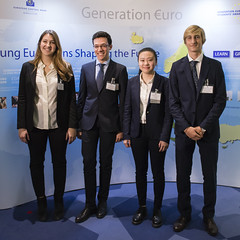 Generation uro Students' Award (European Central Bank) Tags: students award competition finals schools ecb ezb europeancentralbank monetarypolicy generationeuro