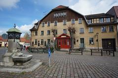 Marktplatz Buckow, Brandenburg (steffenz) Tags: germany deutschland lenstagged sony 12mm brandenburg walimex 2016 nex buckow samyang steffenzahn nex6 samyang12mm walimex12mm walimexpro12mm120ncscse