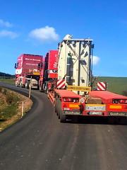 West of Scotland (Paul.Bevan) Tags: truck scotland volvo transformer tag lorry delivery doubleheader lowloader heavyhaulage westofscotland heavyhaul tractorunit scannia convoiexceptionnel