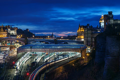 Edinburgh - Waverley (kenny mccartney) Tags: uk castle art festival canon landscape scotland edinburgh cityscape traffic edinburghcastle yes union transport august fringe trains escocia license getty british referendum edinburg edinburghfestival edimburgo commonwealth commonwealthgames edynburg szkocja caltonhill hogmanay devolution gettyimages urbanscape assembly schottland citycouncil thehub schotland southbridge waverlystation regentroad bankofscotland scozia cosse bettertogether edfringe edinburghfestivalfringe thefringe edinburghinternationalfestival eif   dimbourg caeredin tolboothkirk  scottishindependence  neverendum 85lii  5dii   festivalfringesociety  kennymccartney scotlanddecides