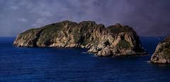 Malgrats Islands (M.G.N. - Marcel) Tags: color mar ic agua arboles poetic nubes barcas velas olas isla cuevas montes arbustos vegtacion