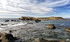 Islote (JoseQ.) Tags: mar agua mediterraneo alicante cielo olas isla espuma santapola tabarca joseq