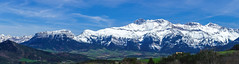 Panorama Trives - Alpes - France (f1ijp) Tags: sky mountain snow france alps green montagne alpes canon de landscape eos bleu ciel neige paysage extrieur colline 600d flanc trive f1ijp