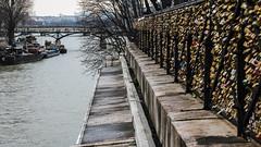 Enamorados (Langel Photo) Tags: rio puente sena candados