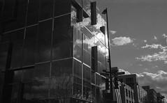 King and Pinckney (patrickkuhl) Tags: street leica blackandwhite building film monochrome wisconsin architecture analog 35mm blackwhite king kodak streetphotography d76 summicron madison 400 filmcamera madisonwi 40mm wisco selfdeveloped wisc filmphotography summicronc pinckney leitz kentmere filmisnotdead kodakd76