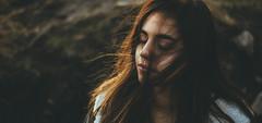 Camila (Wladimir_J) Tags: red portrait orange woman cute art girl beauty face female hair gold wind serenity goldenhour