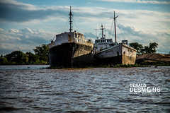 Corrientes City from the Parana River (geralddesmons) Tags: argentina rio river photography gerald corrientes fotografia fotografias rioparana desmons