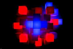 Licht   (explored!) (lichtflow.de) Tags: blue light red party color rot canon lampe licht hamburg explore blau farbe edelfettwerk puretechno eos5dmarkiii
