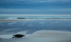 blue (keith midson) Tags: ocean blue sky seascape beach water coast tide wave coastal tasmania coastline boatharbour