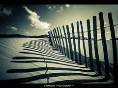 _\_\_\_\_\_\_\_\_\_\_\_\_\_\_\ (Kevin HARWIN) Tags: sea france beach water canon fence eos sand sigma 1020mm len calais 60d