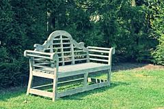 Ladew Gardens ~ stylish bench - HBM! (karma (Karen)) Tags: gardens maryland benches monkton hbm ladewtopiarygardens nrhp benchmondays harfordco