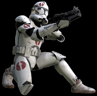 Clone Trooper (Phase II 95th Recon Corps Crouch Promo)