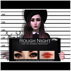 WarPaint* for the Terrible Twos hunt (~ Mafy ~) Tags: mesh head system terrible hunt warpaint madly untamed twos catwa lelutka appliers