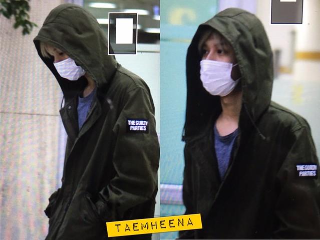 160427 Taemin @ Aeropuerto Gimpo {Llegada a Corea} 26732137215_6b69a7bf10_z