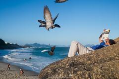 """""""Relaxa"""" Arpoador, Ipanema (VECTORINO) Tags: brazil people beach colors brasil riodejaneiro weekend tropical vectorino lazarev"""