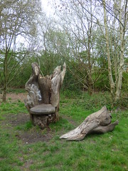 The Dingles - Shire Country Park - 7 Wonders Walk - wooden bench sculpture - broken and rotted (ell brown) Tags: greatbritain trees england sculpture tree face bench spring birmingham unitedkingdom seat mayday westmidlands yardleywood rivercole hallgreen woodensculpture brooklane highfieldrd thedingles themillstreamway highfieldrdhallgreen theshirecountrypark 7wonderswalk colesideavenue colevalleyrd