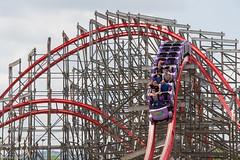Airtime (Midgetman82) Tags: kentucky amusementpark louisville rollercoaster rmc stormchaser kentuckykingdom rockymountainconstruction