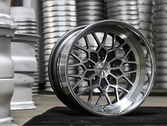Forgeline Heritage Series TA3 Finished with Pearl Gray/HTM Center and Polished Outer (Forgeline Motorsports) Tags: forged madeinusa ta3 forgeline heritageseries forgelinewheels wheelwednesday notjustanotherprettywheel