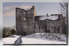 Doune Castle in Snow