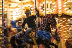 Spinning round (Saúl Díaz) Tags: madrid life christmas city boy urban horse fun lights navidad kid nikon roundabout ciudad carousel tamron niño tiovivo nikond810 nikonflickraward