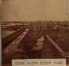 First Ward High Water, Early Photo by Love, PPL