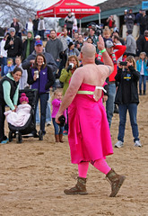 Pretty In Pink :) (jrussell.1916) Tags: pink costumes winter kansascity kansas specialolympics shawneemissionpark polarplunge canonef70200mmf4lis