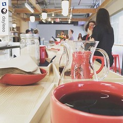 Our morning pourover coffee will have new friends - Espresso & related foamy drinks. Come experience what 100% Grass-Fed milk and fresh beans can do! Weekends only 9-5 pm. #jerseycity #jcmakeityours #jceats #jcdrinks #jcscoop Repost from @dayleeo we have (bucketandbay) Tags: jerseycity gelato bucketandbay