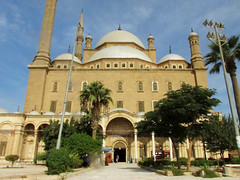 Alabaster Mosque, Mohammed Ali (shaire productions) Tags: world city travel windows urban building tourism architecture design photo worship doors tour exterior image muslim egypt picture style landmark mosque structure architectural cairo photograph egyptian ottoman minarets islamicarchitecture cidadel mosqueofmuhammadali egyptandthenile