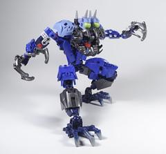 Horned Fullbrog (novuscarpus) Tags: man thing frog bionicle moc sadsadsadadsadskahdadgsa dasadsadsa