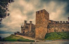 Castillo de los Templarios (Gabriel Fernandez Ramos) Tags: de los castillo ponferrada templarios gabrielfdez