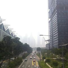 unedited - hey hey haze... (lclek) Tags: city weather skyline haze singapore sg suntec southbeach inxs disappear southbeachtower uploaded:by=flickstagram instagram:photo=11019269151959742901333243